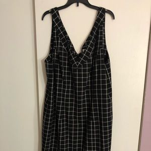 Michael Kors plaid dress.